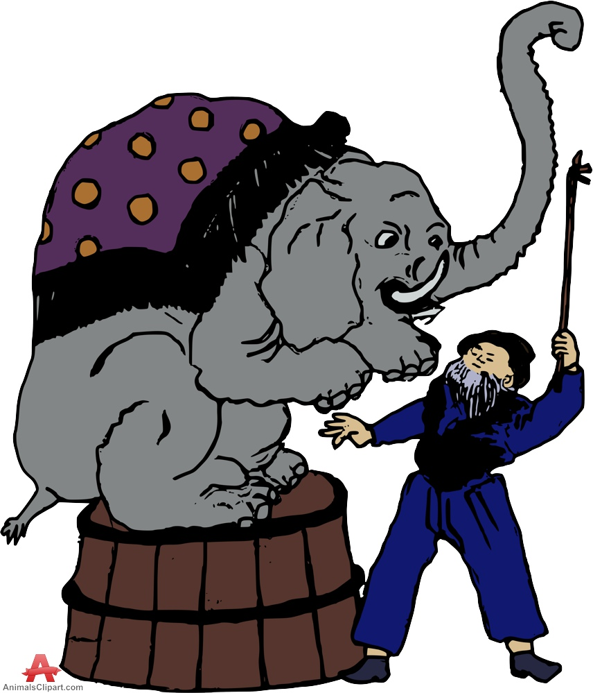 Camel clipart circus elephant Elephant Circus in Free Design