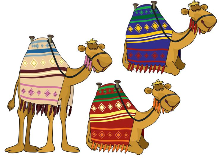 Camels clipart egyptian Free Cliparts Art Camel Nativity