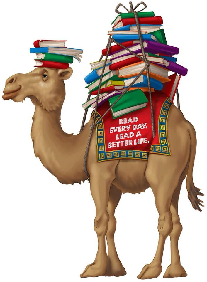 Camel clipart body Reading best & Book this