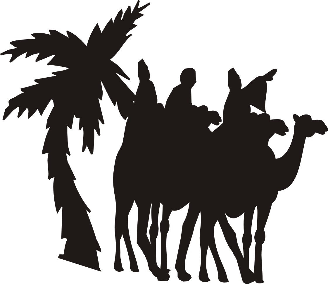Camel clipart manger Silhouettes Christmas