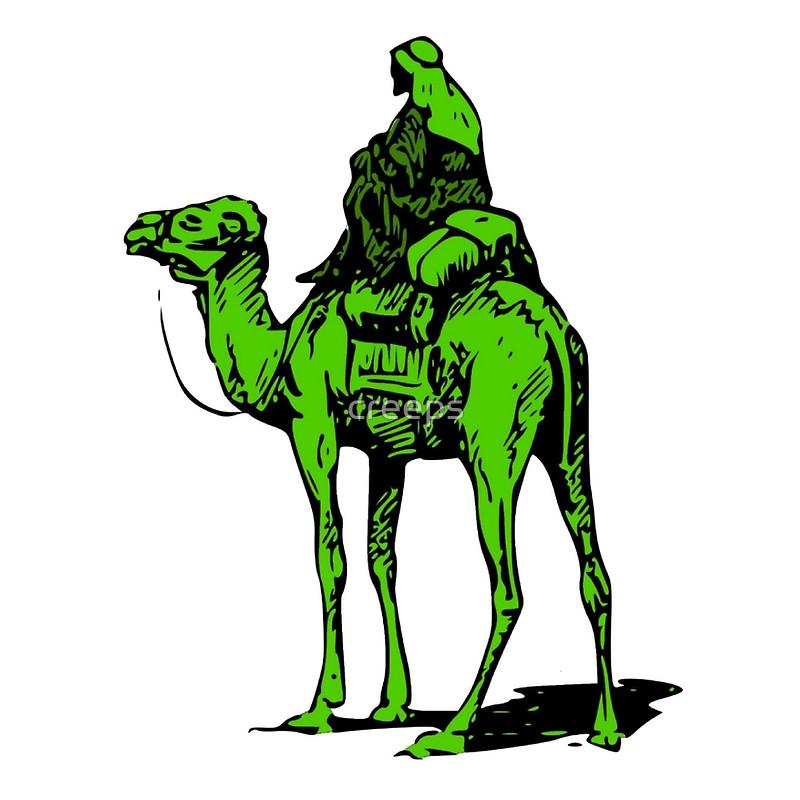 Camel clipart silk road Silk creeps Drawstring Road Redbubble