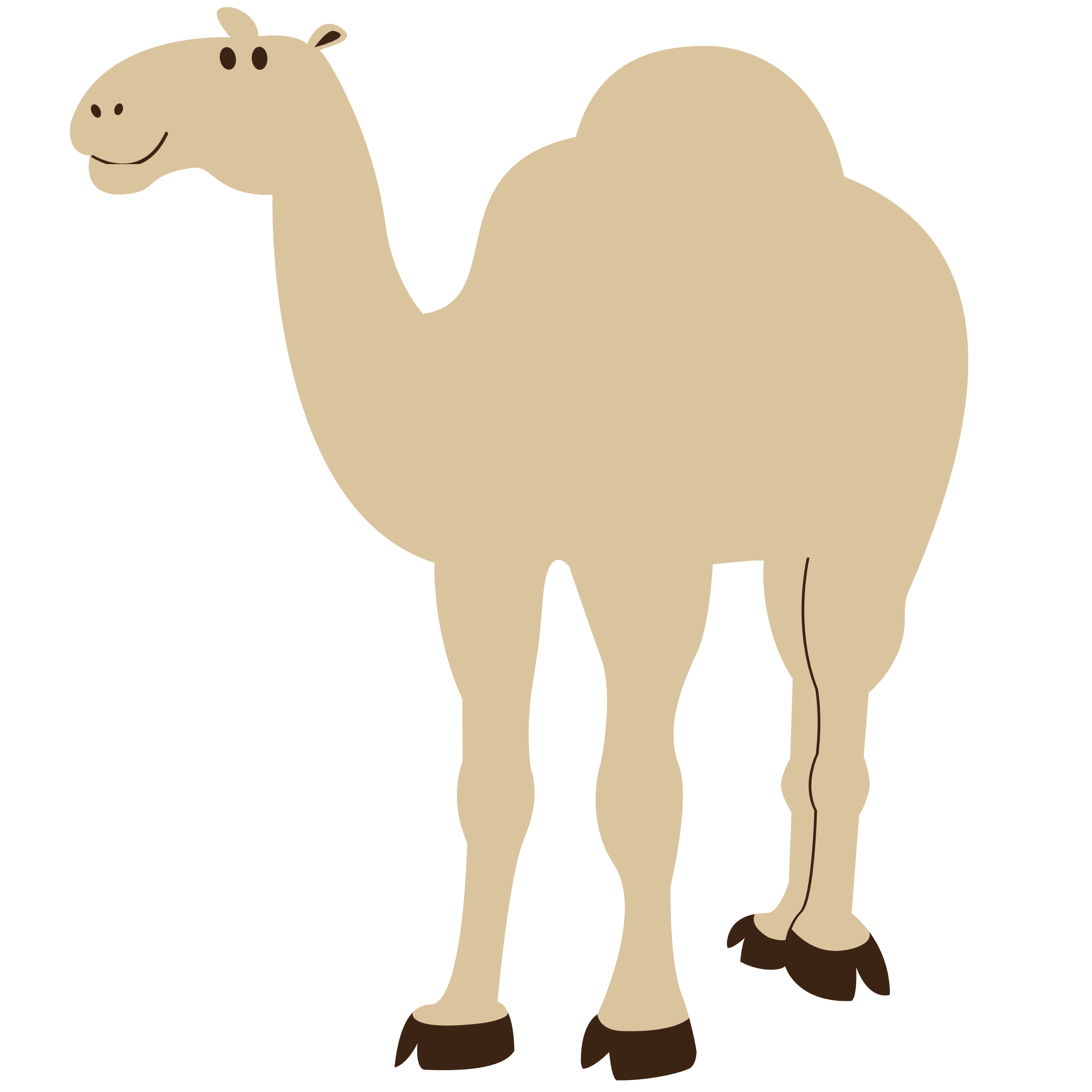 Camel clipart unta Animal org openclipart  Camel