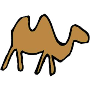 Camels clipart vector Emf clipart  free Camel