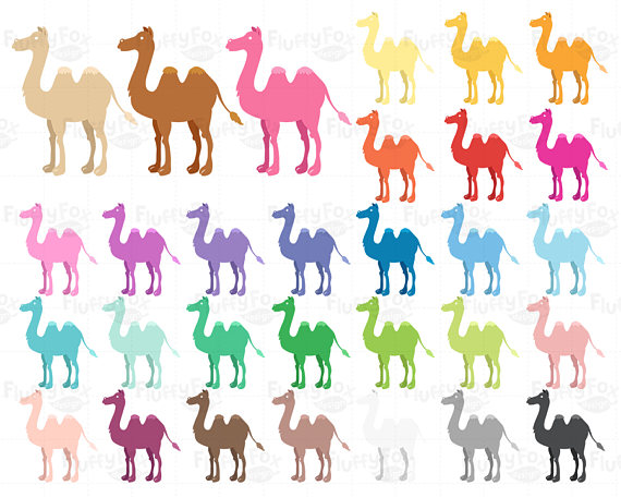 Camel clipart christmas Art This Cartoon Colorful Clip