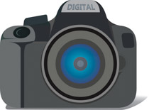 Dslr clipart back Graphics Clipart Size: Free front