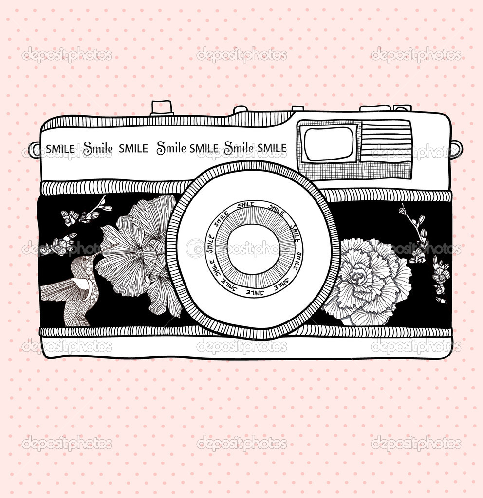 Photography clipart vintage Camera camera Art with Photo
