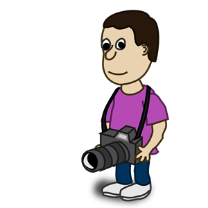 Camera clipart funny Clipart Comic Camera Camera characters: