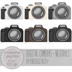 Camera clipart pastel Photography art Camera Classroom