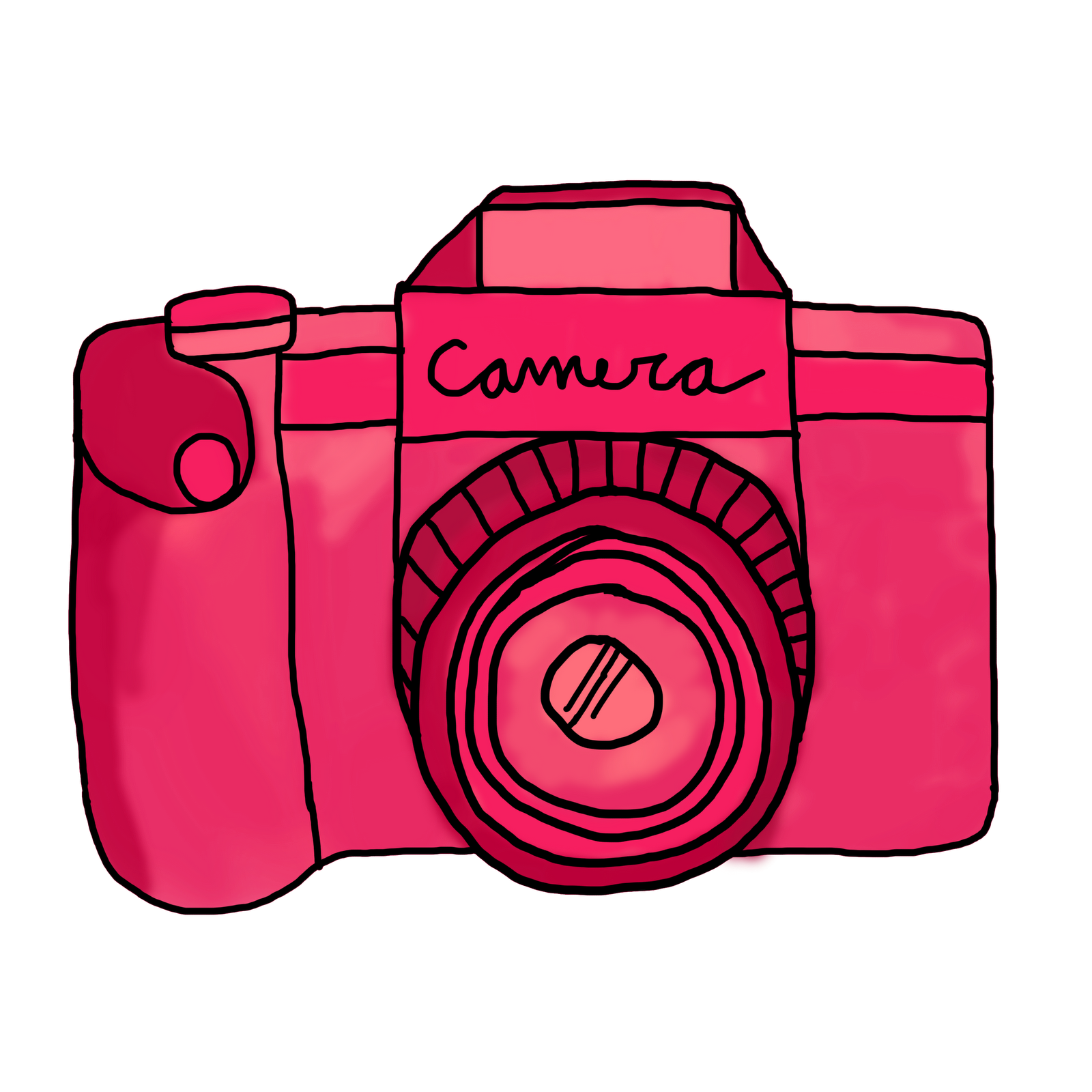 Photography clipart pink camera Clipart  Cute Camera Pink