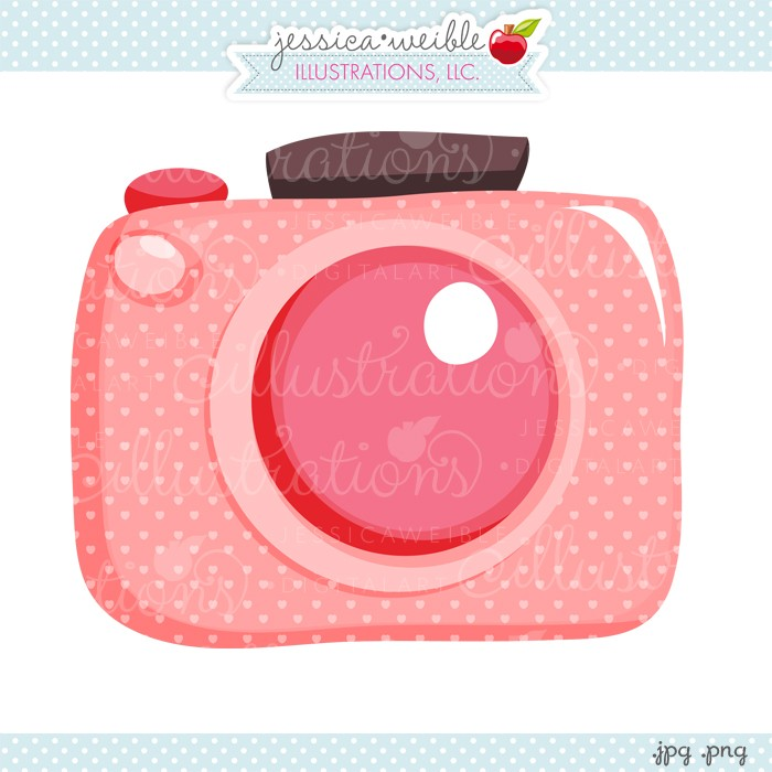Photography clipart pink camera #pink JW Clipart camera cute