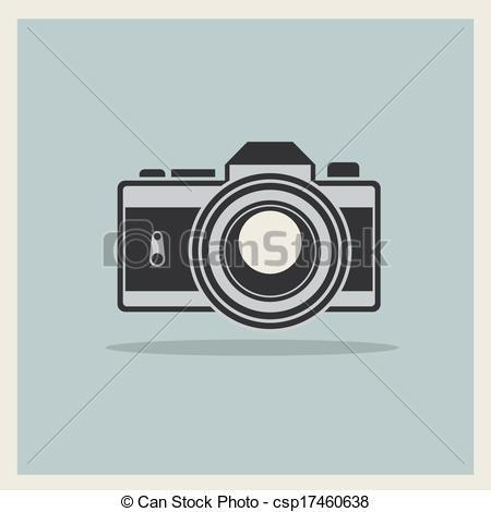 Dslr clipart professional camera DSLR Vintage of Retro Vectors