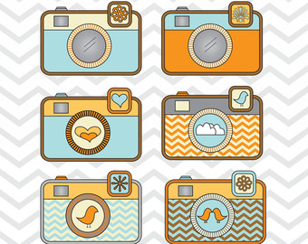 Photography clipart vintage camera Logo Art Retro Camera Digital