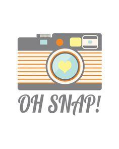 Camera clipart things Hand Camera Snap camera Printables