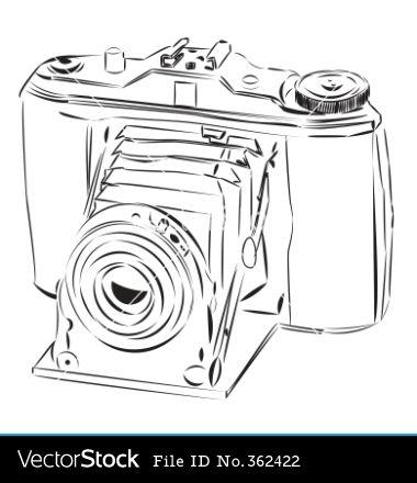 Camera clipart things Vintage vector Pinterest Camera 35