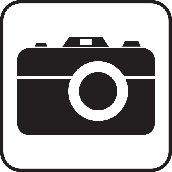 Photography clipart vector art Free camera art vector clip