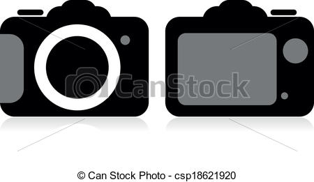 Photography clipart slr camera Csp18621920 camera SLR vector SLR