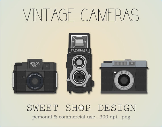 Photography clipart vintage Photography Clip Art Ilustration Free