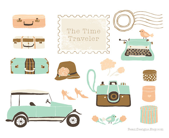 Camera clipart wedding photography And Wedding Suitcases Car Camera