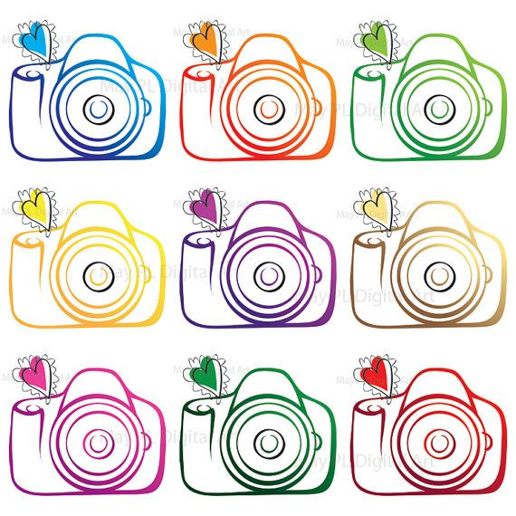 Photography clipart pink camera For collection best images art