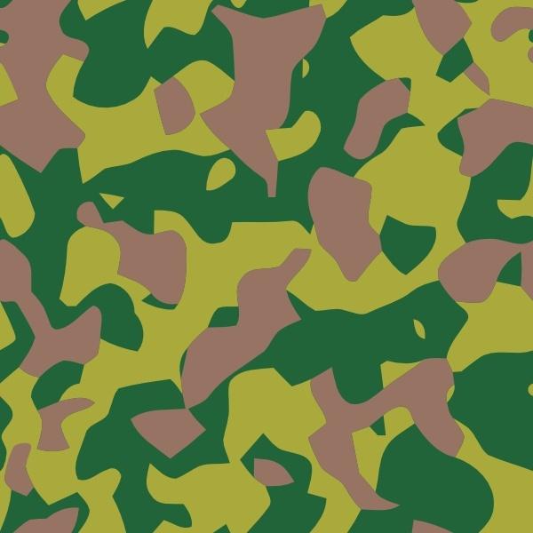 Camo clipart Vector Camouflage collection clip art