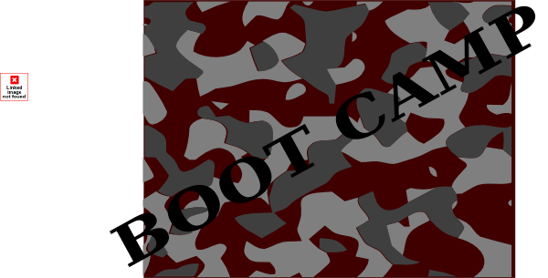 Camo clipart boot camp Boot vector Download image Art