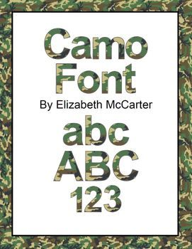 Camo clipart boot camp The boot Font Art: images