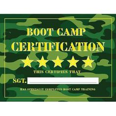 Camo clipart boot camp Camp  party Image for