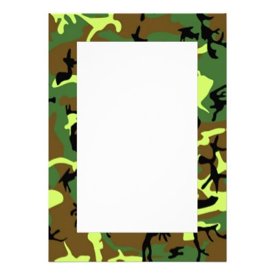 Army clipart borders #13