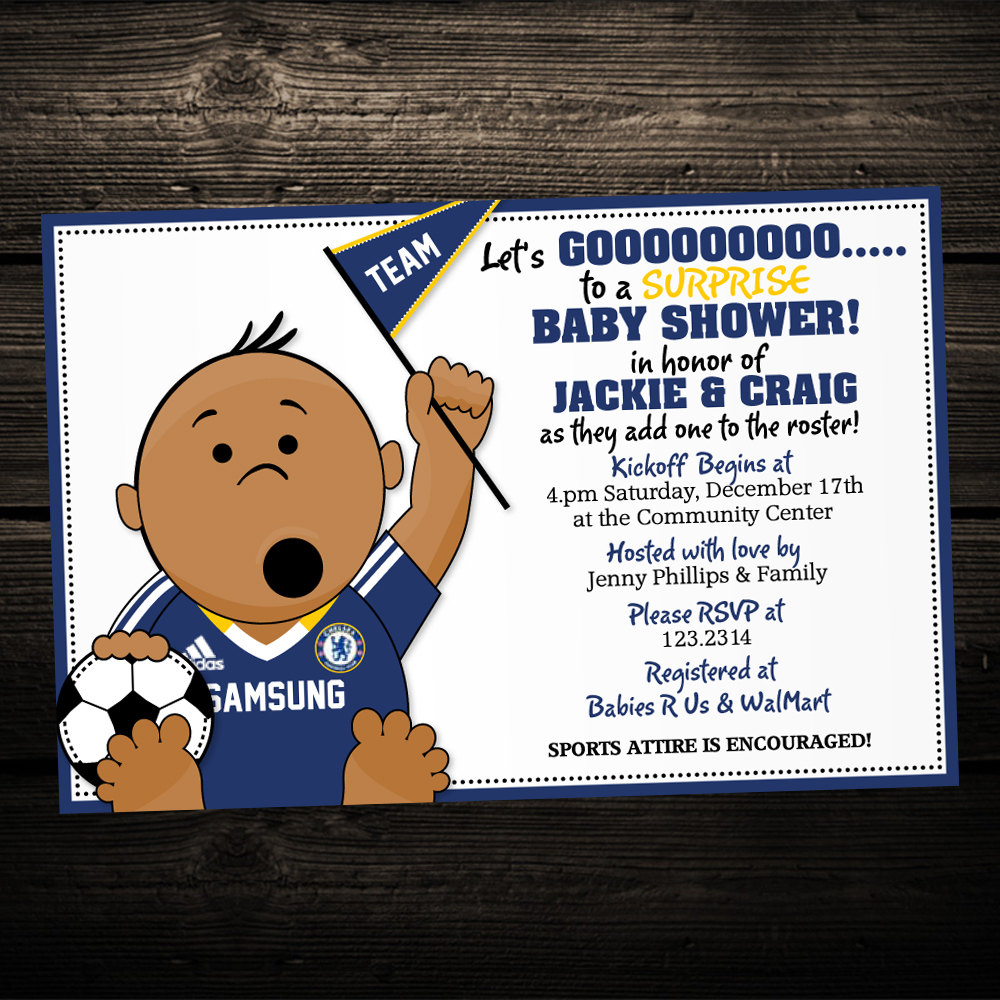 Football clipart baby shower #1