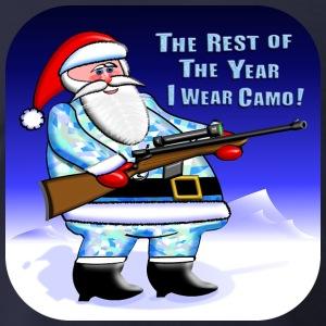 Camo clipart santa Camo Spreadshirt Men's Shirts Santa