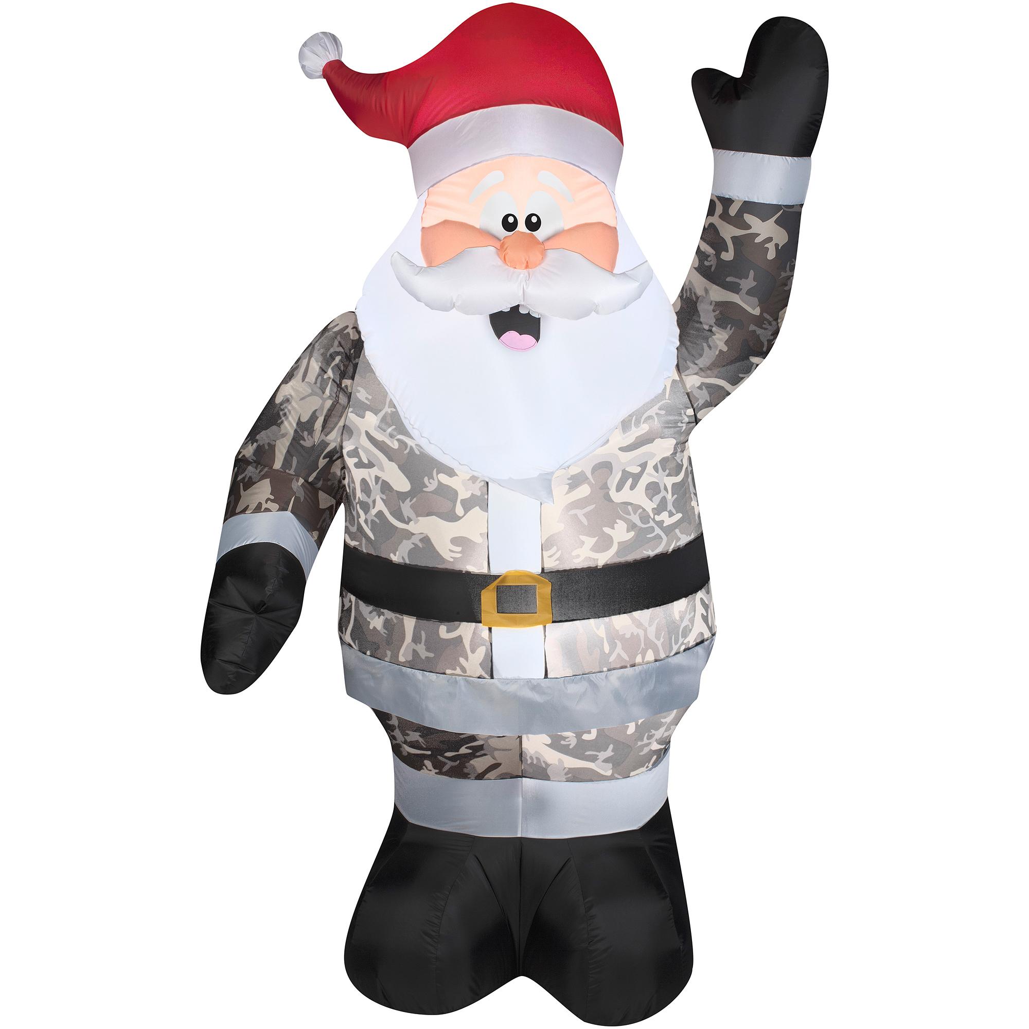 Camo clipart santa 7' Santa  Walmart Camo