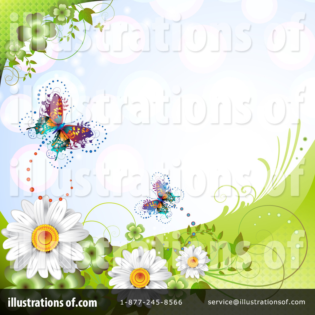 Camomile clipart spring background (RF) #1101161 Background by #1101161