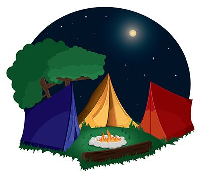 Outdoor clipart campground Camping camp and clip com