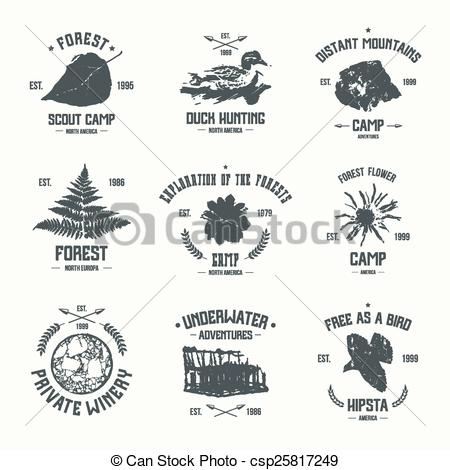 Adventure clipart black and white Vector of for EPS shirt