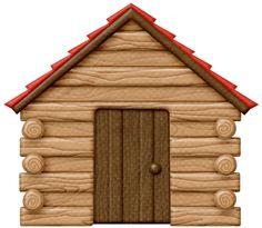 Winter clipart log cabin Cabin 21 Top Art 59
