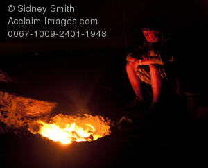 Camp Fire clipart front Front campfire in  teenage