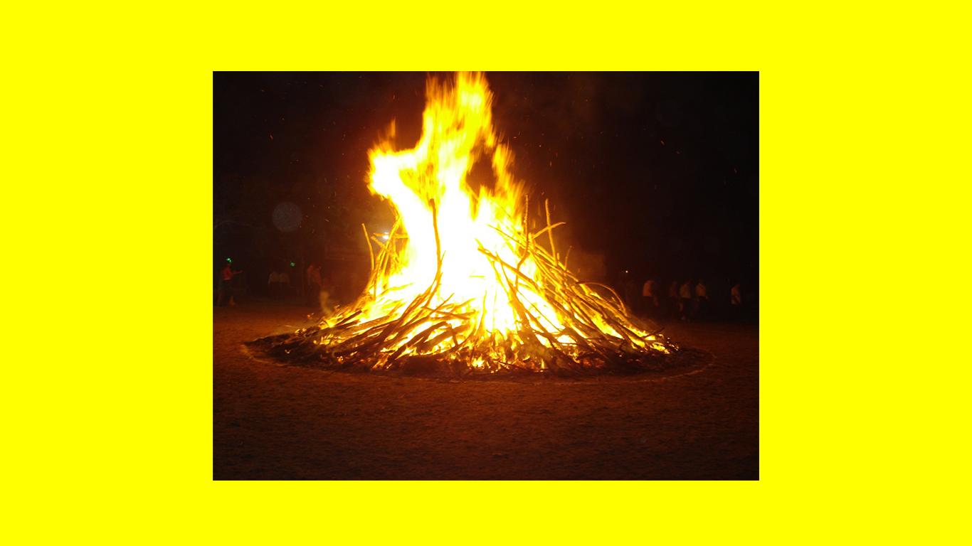 Camp Fire clipart holi D/FW Ekta Events Holika Upcoming