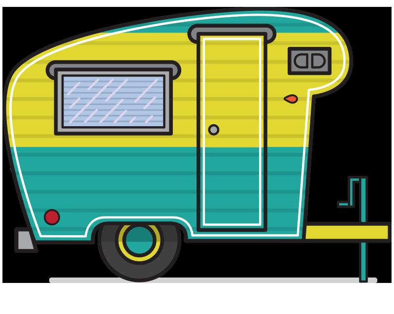 Camper clipart Camper Clip Clip Related Camper