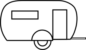 Camper clipart Clip online Airstream Clker royalty