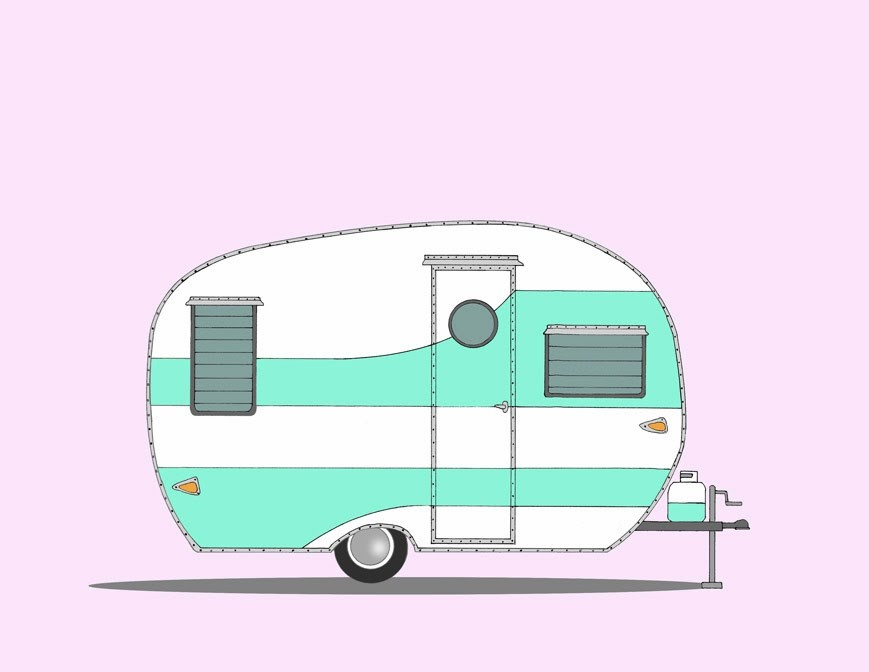 Camper clipart camping trip A Goes Full Misadventures How