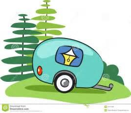 Camper clipart camping trip Trailer camper » cartoon Clipart
