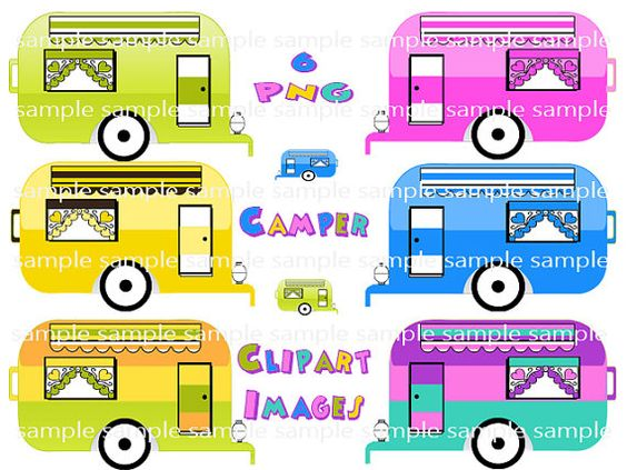 Camper clipart campout RV Camping Camping Images Instant