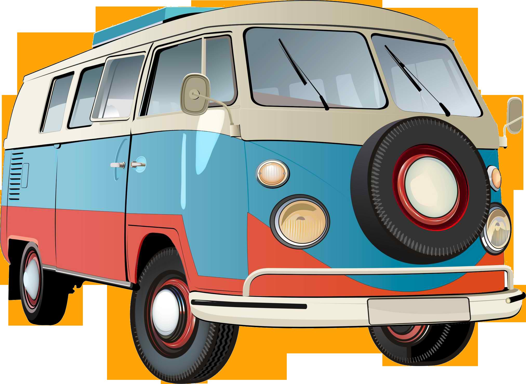 Camper clipart kombi Men Men T VW Kombi