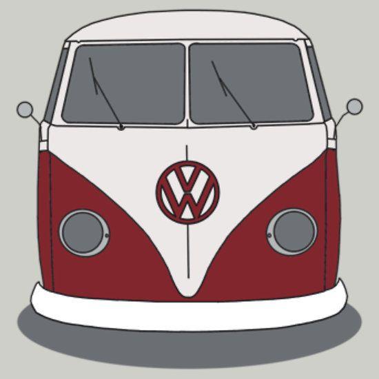 Camper clipart kombi Google Pinterest vw campervan kombi