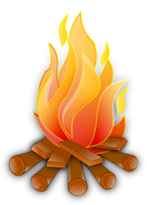 Campire clipart Campfire Art com  royalty