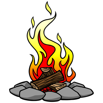 Campfire clipart Cliparting Campfire karl cliparts international