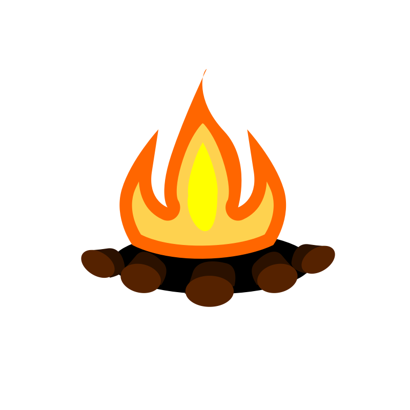 Campire clipart Campfire camp 2 fire 2
