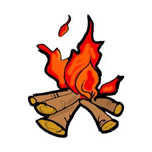 Campfire clipart Campfire Clip Campfire Best #7392