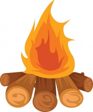 Campfire clipart beach bonfire Clipart Fire bonfire Cliparts Zone