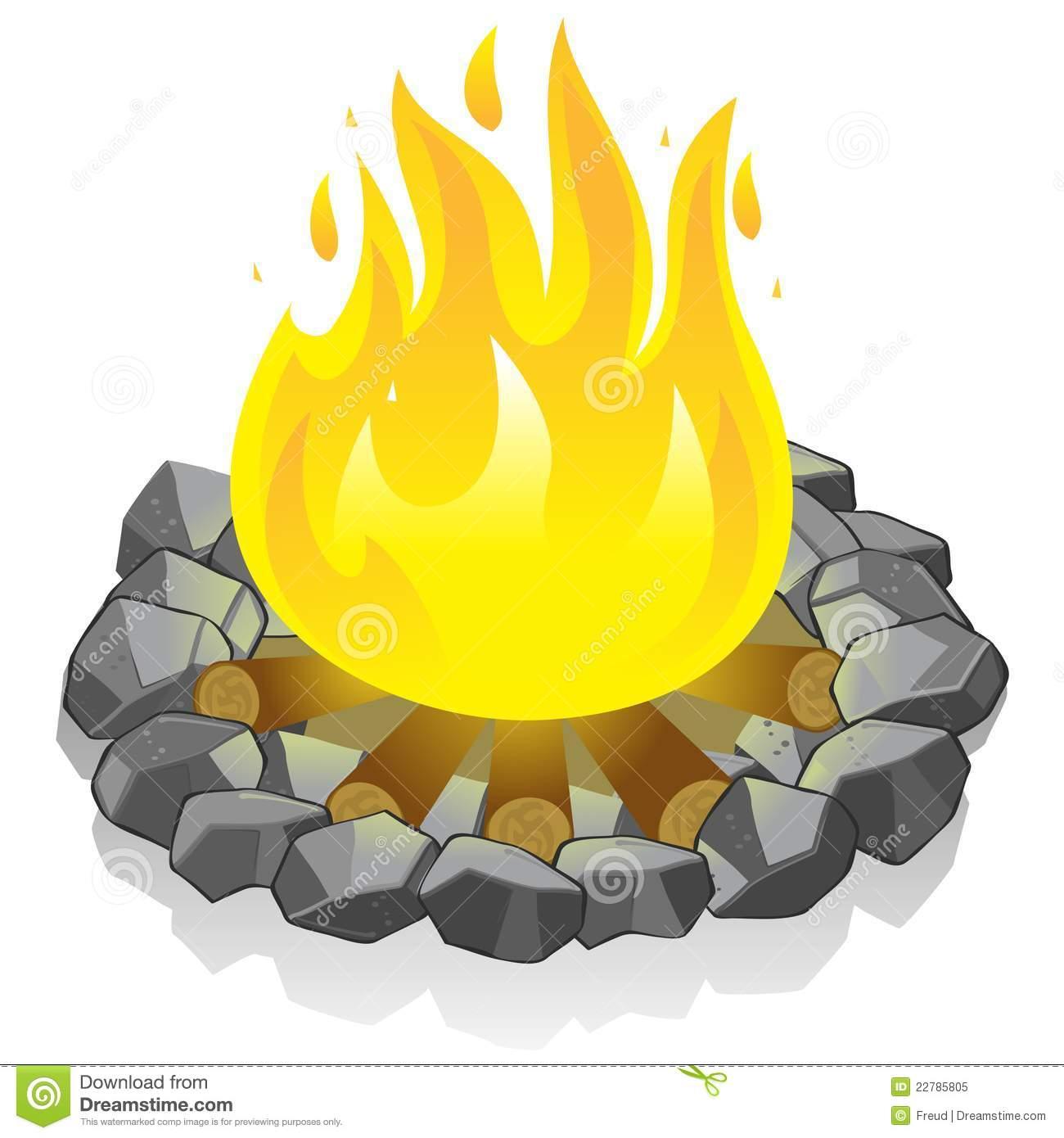 Campfire clipart beach bonfire Cps Clip Campfire Bonfire 3Kibu4